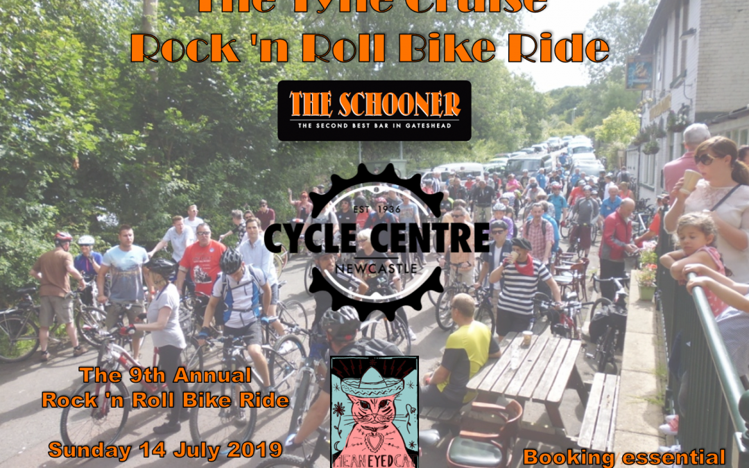 Sunday, 14 July 2019: Rock 'n Roll Bike Ride