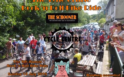 Sunday, 14 July 2019: Rock 'n Roll Bike Ride
